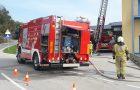 Požarna vaja z evakuacijo