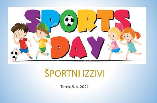 Športni dan – Športni izzivi