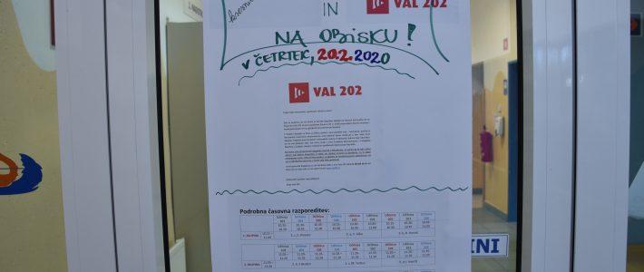 Kresničkin obisk in Val 202